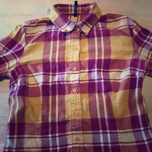 Kuhl Flannel Button Down Shirt